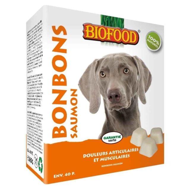 Bonbons Maxi au Saumon pour Chiens - Biofood - x40