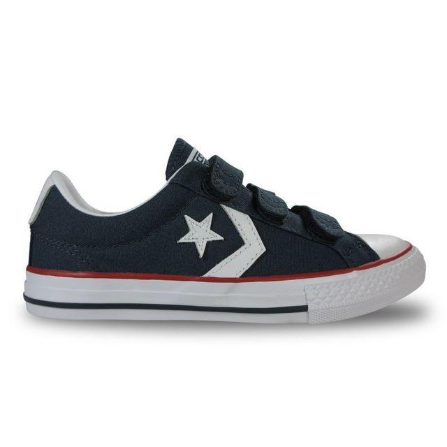 Converse Chaussure enfant star player 3v marine navywht