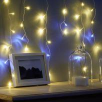CARREFOUR - Guirlande lumineuse stalactite ''bi-couleur'' - n° 53 - DE56705