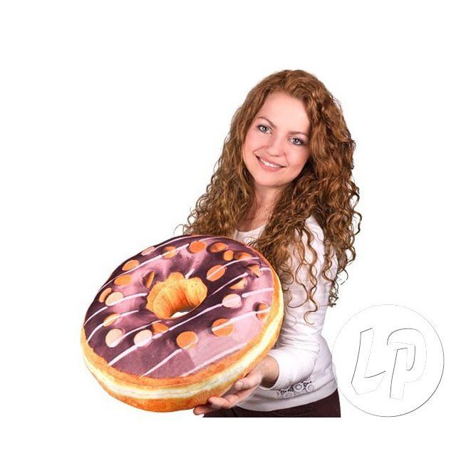 Coolminiprix Lot de 3 - Coussin donut au chocolat 39cm - Qualité Ce produit est vendu par lot de 3 pièces.Même si sur la photo il y a plusieurs pièces, vous recevrez 3 unités - Lot de 3 - 1x coussin donut au chocolat.diamètre 39cm.matière 100% polyester,