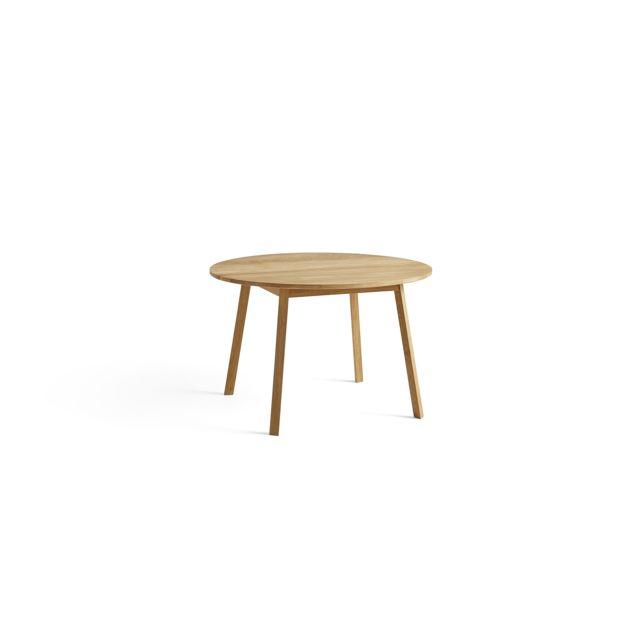 Hay Table ronde Triangle Leg - chêne huilé