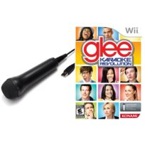 Konami - Coffret Glee Karaoké Révolution + 1 Micro - Wii