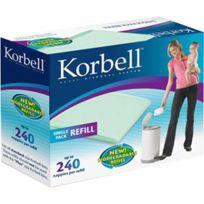 KORBELL - Boite de 3 recharges pour poubelle 15 litres
