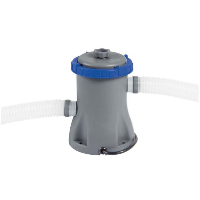 Best Way Pompe avec filtre à cartouche Bestway Pompe filtrante 1200l/h Blanc 80570