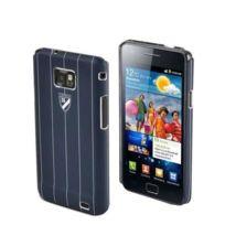 Cremieux - Crémieux coque Derby bleu avec protège écran Samsung i9100 Galaxy Sii