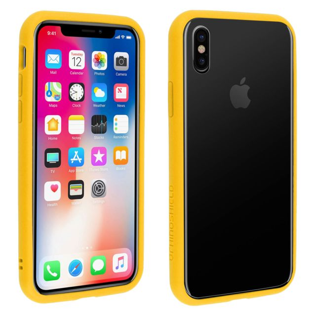 coque rhinoshield iphone xr jaune