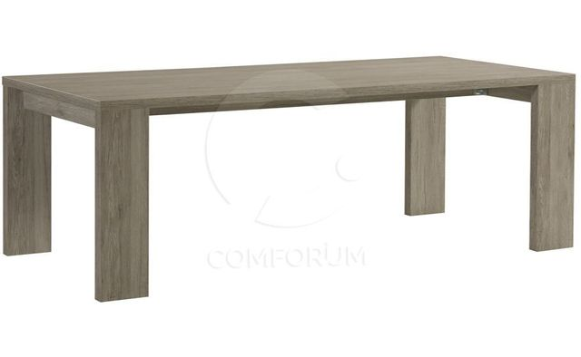 Comforium Table rectangulaire fixe contemporaine 190 cm coloris Portofino