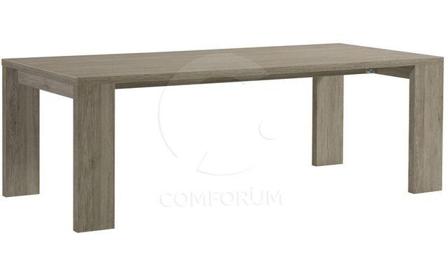 Comforium Table rectangulaire fixe contemporaine 190 cm coloris Portofino