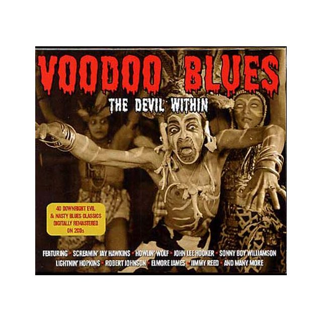 compilation voodoo blues the devil within boitier cristal pas