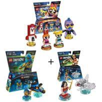 Wonder Figurine Figurines Woman Lego Ninjago GirlsJay DimensionsPowerpuff Personnage De Pack Miniature 3 nwPO0k