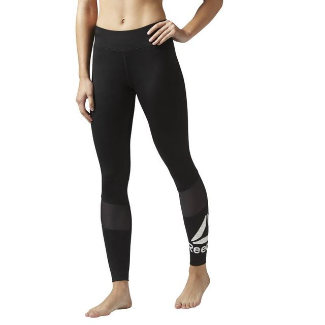Reebok - Collant femme workout ready graphic - pas cher Achat ... f77654385bb