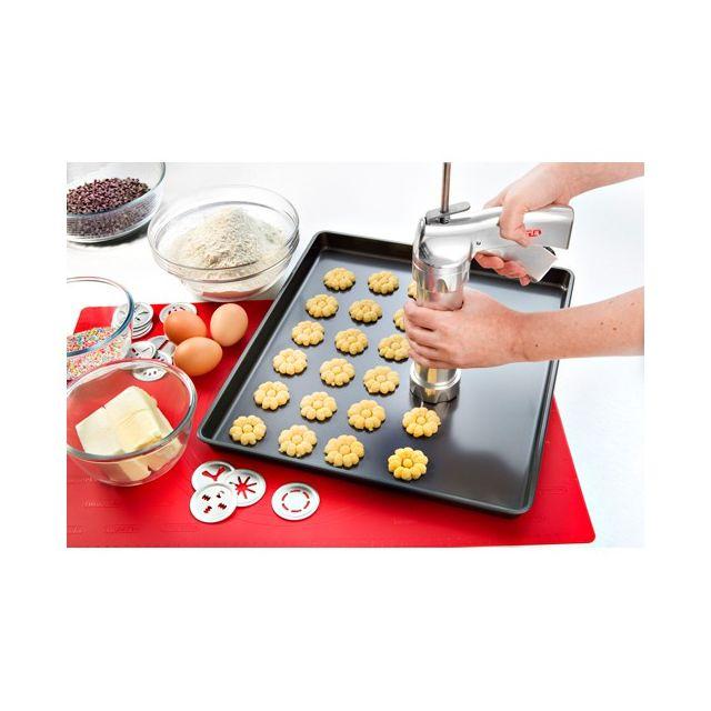 IMPERIA - coffret presse à biscuits 14 disques + 4 douilles - 580