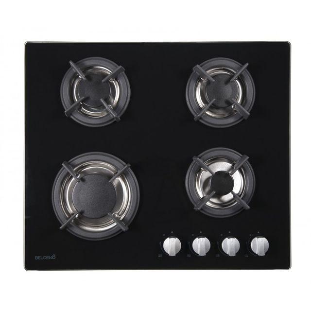 beldeko table de cuisson gaz btg4z f01vno achat plaque de cuisson gaz. Black Bedroom Furniture Sets. Home Design Ideas