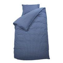 Bink Bedding - Housse de couette à carreaux bleus