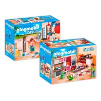 Playmobil   9268 9 Maison Moderne   2 Boîtes   9268+9269