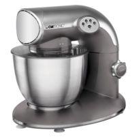 Clatronic - Km 3632 Robot culinaire/pétrin 1200 W, titan-argenté