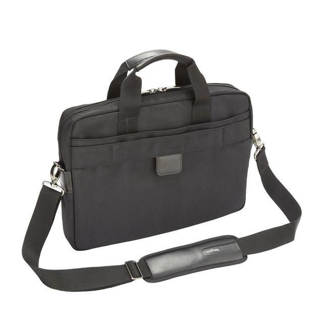 targus lomax 13 3 ultrabook topload laptop case black. Black Bedroom Furniture Sets. Home Design Ideas