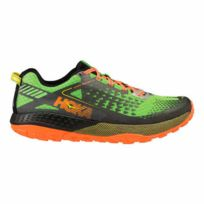 Hoka One One - Chaussures Speed Instinct 2 vert noir orange