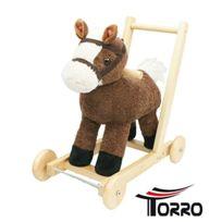 Torro - 3199900276-BÉBÉ Trotteur Biffy Cheval Musical, Trotteuse