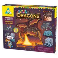 Orb Factory - Mosaïque autocollante Dragons