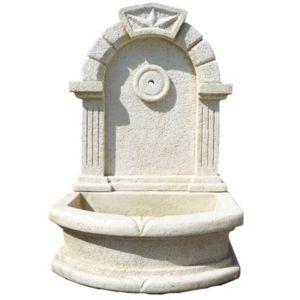 DECO GRANIT - Fontaine Arche en pierre reconstituée - pas cher ...