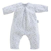Corolle - Pyjama blanc étoiles poupon 52 cm