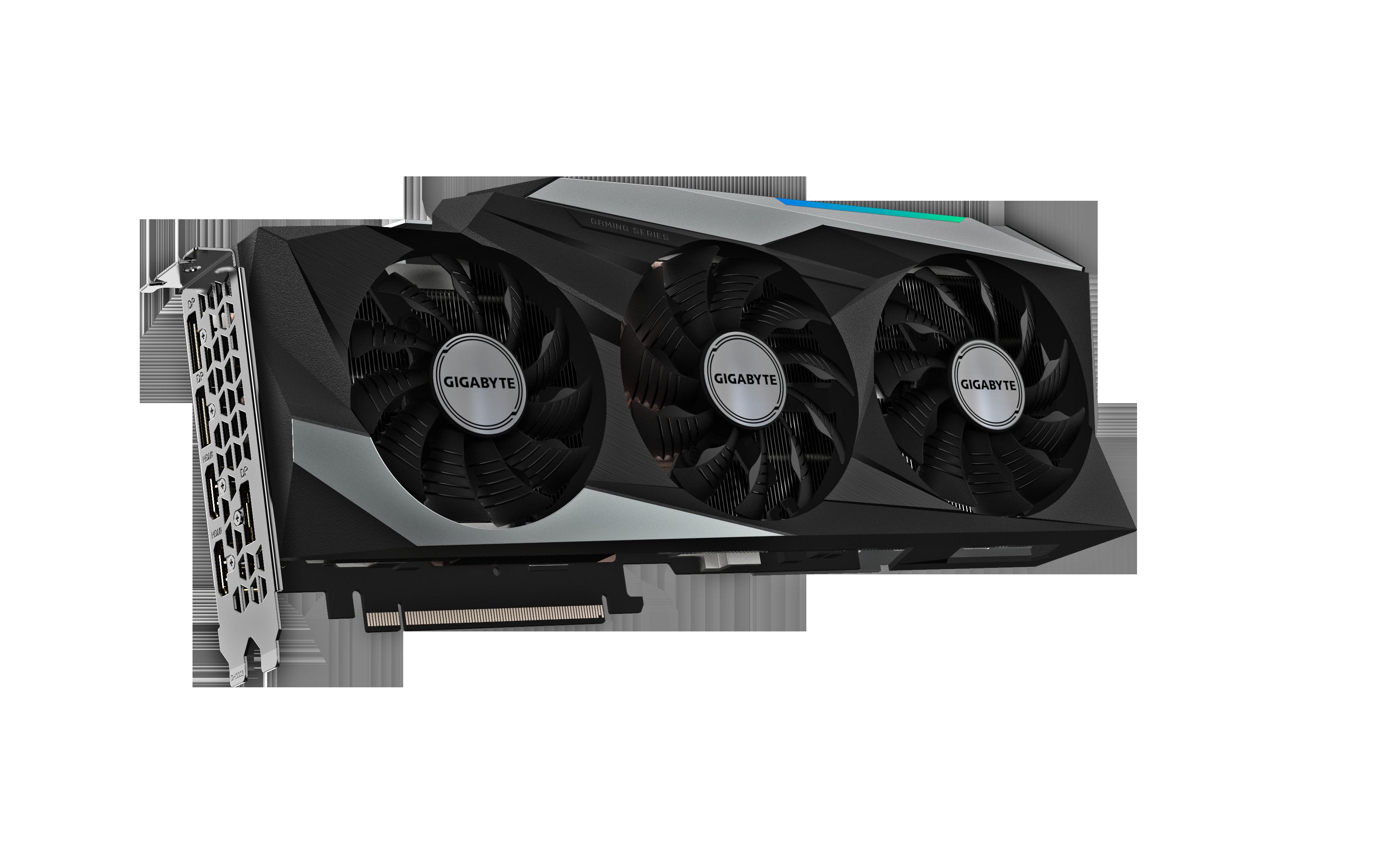Carte graphique GeForce RTX 3080 10 GB OC Gigabyte
