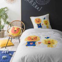 FUTURE HOME - Parure de lit enfant Lion 140x200