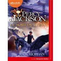 Audiolib - Percy Jackson tome 3 ; le sort du titan