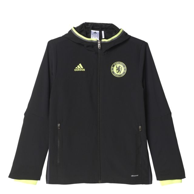 Replica Chelsea Fc Presentation Noir Veste Club Enfant Football