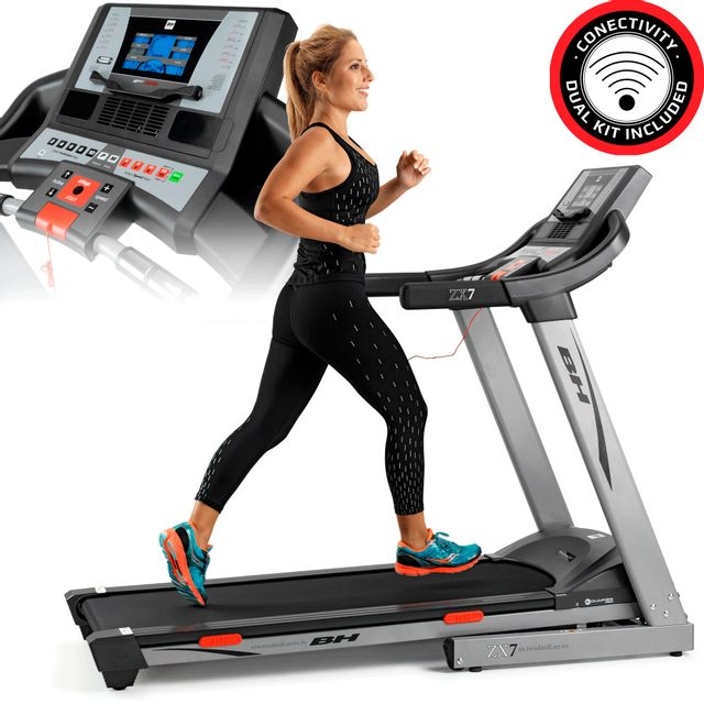 Bh Fitness Tapis De Course 18 Kmh Surface De Course Xxl I Zx7