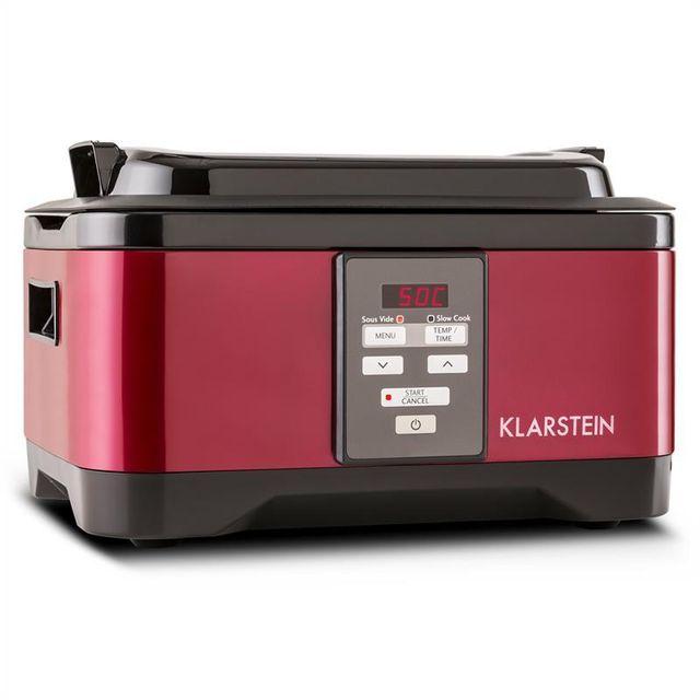 KLARSTEIN Tastemaker cuiseur sous-vide Slow Cooker 6L 550 W rouge