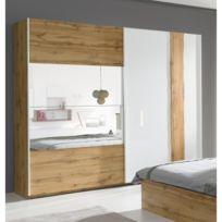 a4c0b556e23 Armoire chambre design - catalogue 2019 -  RueDuCommerce - Carrefour