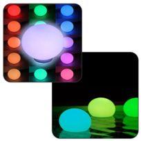 LINXOR - Lampe Led Flottante Multicolore 35 x 35 x 24cm