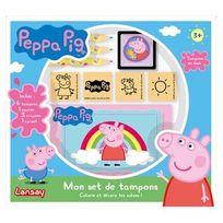 Lansay - Peppa Pig - Mon set de tampons Peppa Pig