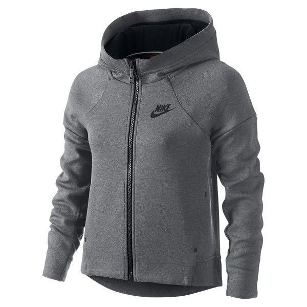 Nike Junior Sweat Tech Fleece Full Zip Junior Nike 807563 091 Gris ad6f30