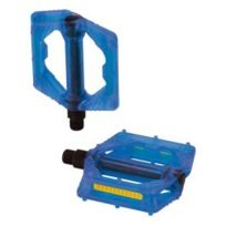 Xlc - Pédales Pd-m16 bleu transparent