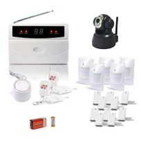 SecuriteGOODdeal - Kit alarme de maison, 32 Zones Xxl Box et camera Ip
