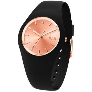 ice watch montre silicone noir noir achat vente. Black Bedroom Furniture Sets. Home Design Ideas