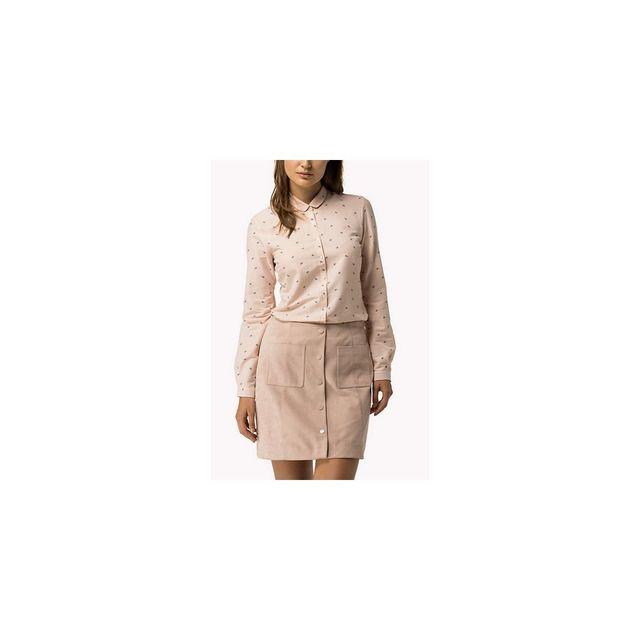 f7382ee578ba Tommy Hilfiger - Anabel Shirt Ls W1 - pas cher Achat   Vente Chemise femme  - RueDuCommerce