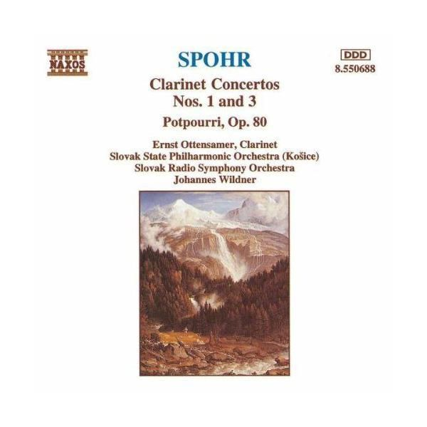 Naxos - Concertos pour clarinette Nos 1 & 3