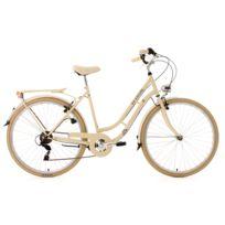 KS CYCLING - Vélo de ville 28'' Casino beige TC 53cm 6V