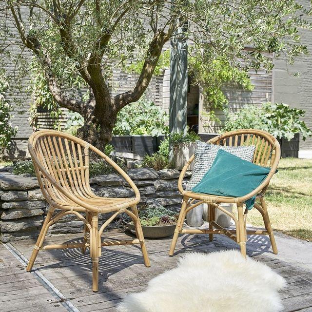 Bois Dessus Bois Dessous - Lot de 2 fauteuils de jardin en ...
