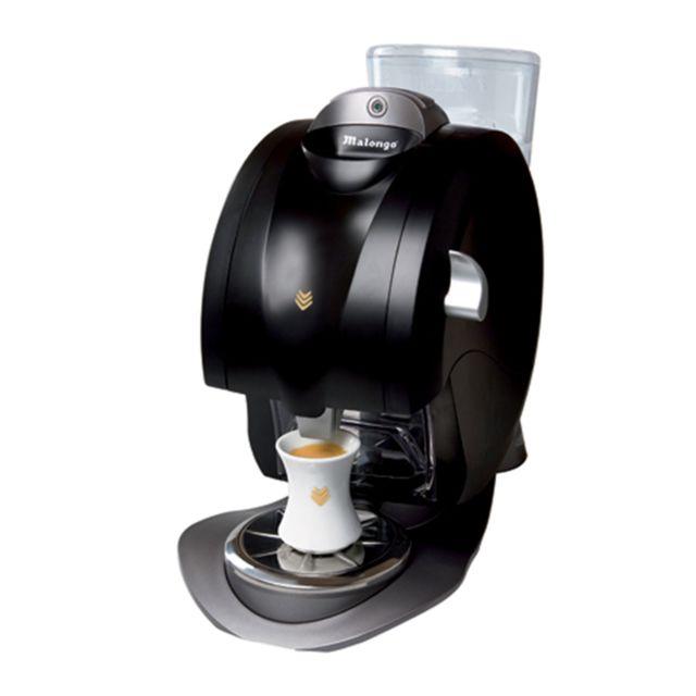 destockage malongo machine caf oh matic noire pas cher achat vente petit d jeuner. Black Bedroom Furniture Sets. Home Design Ideas