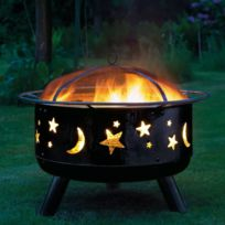 Landmann - Brasero à charbon Stars & Moon 11811