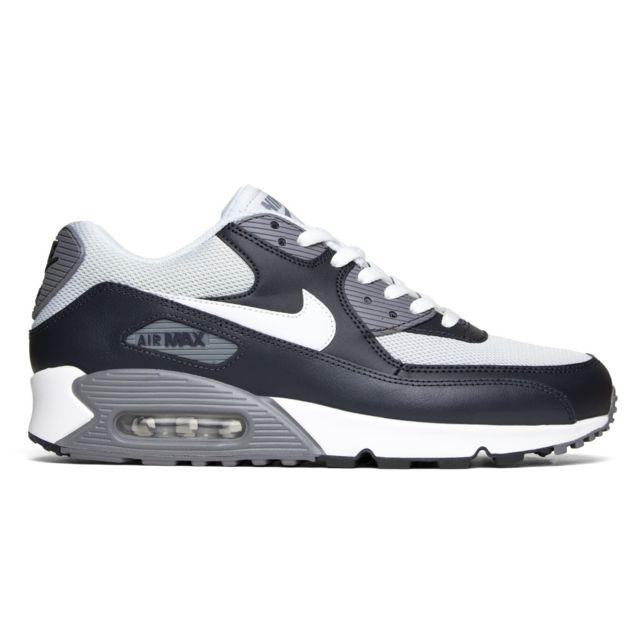 best website 4d04b d0f6f Nike - Basket Air Max 90 Essential 537384-041 Gris-Noir 537384-070-42 - pas  cher Achat   Vente Baskets homme - RueDuCommerce