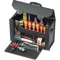 Parat - Trousse à outils Top-line, verrouillable par 2 serrures à crans, Dimensions intérieures : 415 x 165 x 275 mm, Volume environ 19 l, Poids 3500 g
