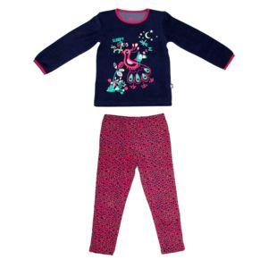 petit beguin pyjama fille manches longues city garden taille 2 3 ans 92 98 cm multicolore. Black Bedroom Furniture Sets. Home Design Ideas