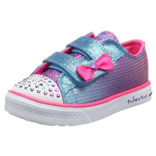 Skechers - Twinkles Toes Chaussure Bébé Fille - pas cher Achat   Vente  Chaussures, chaussons - RueDuCommerce 92dc291ca625