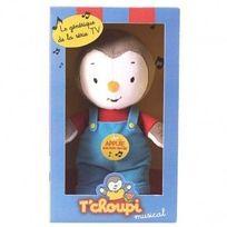 T'choupi - Peluche Tchoupi musical 20 cm